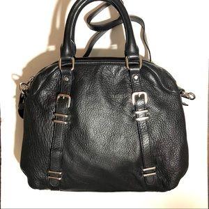 Danier Pebbled Leather Bag.